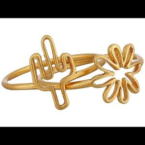 Madewell Jewelry - [Madewell] Cactus & Flower Ring Set